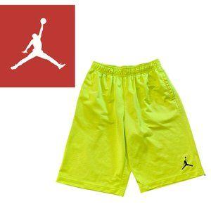 Jordan Neon Basketball Shorts - Large